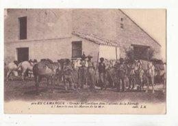 En Camargue - Gardiansà La Férrade à L'Amarée Aux Ste Marie De La Mer - Achat Immédiat  (cd 002) - Bull