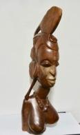 GROSSE STATUE AFRICAINE - Afrikanische Kunst