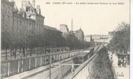 CPA 1274   --PARIS  Le Métro Boulevard Pasteur-  Animation- - France
