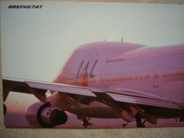 Avion / Airplane / JAL / Boeing B 747 / Airline Issue - 1946-....: Ere Moderne