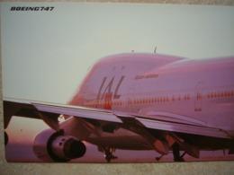 Avion / Airplane / JAL / Boeing B 747 / Airline Issue - 1946-....: Modern Era