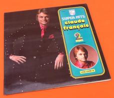 """Vinyle 33 Tours  (2 Vinyles) Super Hits Claude François """" J' Attendrai """" - Vinyl-Schallplatten"""