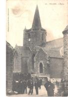 FR22 HILLION - 161 - L'église - Animée - Sonstige Gemeinden