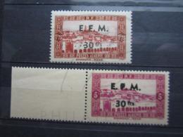 VEND BEAUX TIMBRES TELEGRAPHE D ' ALGERIE N° 1 + 2 , XX !!! - Algérie (1924-1962)