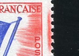 Dienstmarke Für Den Europarat 11 Europafahne: PV Gelb Und Farbstreifen Rot ** - European Ideas
