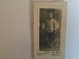 Militaire Guerre .soldat   Photo  Soldat . Régiment.bordeaux - 1914-18