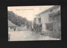 C.P.A. DE DELAIN 70 - France