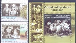 2019. Uzbekistan, Uzbeck Cinema,  2v + S/s, Mint/** - Uzbekistan