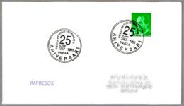 Matasellos 25 ANIVERSARI CERCLE FILATELIC I NUMISMATIC. Calella 1991 - 1931-Hoy: 2ª República - ... Juan Carlos I