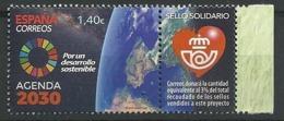 ESPAÑA 2019 - Agenda 2030  (Sello Solidario) ** - 1931-Oggi: 2. Rep. - ... Juan Carlos I