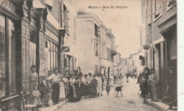 *** 47 ***  MEZIN  Rue Du Peyron - DECHIRURE - Autres Communes
