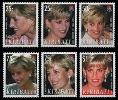Kiribati 2007 - Mi-Nr. 1034-1039 ** - MNH - Prinzessin Diana - Kiribati (1979-...)