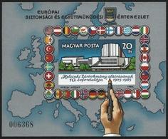 Ungarn 1985 - Mi-Nr. Block 179 B ** - MNH - KSZE - Europa - Ungarn