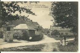 60 - VIEUX MOULIN / ROUTE EUGENIE - CARREFOUR DU CALVAIRE - Otros Municipios