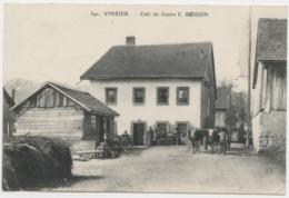 74 - VINZIER - CAFE DU CENTRE - Autres Communes