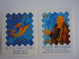 België Belgique 2000 Belgica 2001 EXPO Turn & Tassis 500 Jaar Europese Post Cob 2901 MNH ** - Belgien