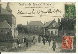 60 - THIEULOY SAINT ANTOINE / MAIRIE - ECOLE - France