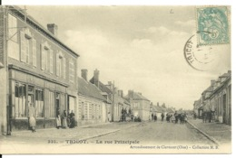 60 - TRICOT / LA RUE PRINCIPALE - Otros Municipios