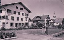 Emmen LU, Bureau De Poste Et Passage à Niveau (7487) Petit Pli D'angle - SG St. Gall