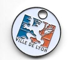 Jeton De Caddie  Ville  De  LYON  Verso  1 €  ( 69 )   Recto  Verso - Einkaufswagen-Chips (EKW)