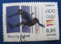 ESPAGNE SPANIEN SPAIN ESPAÑA 2008 OLYMPIC GAMES OF BEIJING JUEGOS OLÍMPICOS USED ED 4424 YT 4042 MI 4337 SG 4374 SC 3591 - 2001-10 Storia Postale