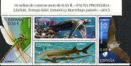 ESPAGNE Protection De La Faune 4v 2015 Neuf ** MNH - 2011-... Unused Stamps