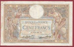 """100 Francs """"Luc Olivier Merson"""" Du 08/10/1931.AF ---F/TTB+--ALPH .T.32465 --(6) - 1871-1952 Antiguos Francos Circulantes En El XX Siglo"""