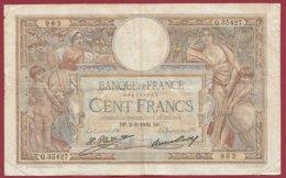 """100 Francs """"Luc Olivier Merson"""" Du 02/06/1932.DP ---F/TTB+--ALPH .Q.35427 --(9) - 1871-1952 Antiguos Francos Circulantes En El XX Siglo"""