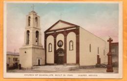 Ciudad Juarez Mexico 1920 Postcard - Mexico