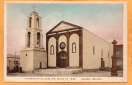Ciudad Juarez Mexico 1920 Postcard - Messico