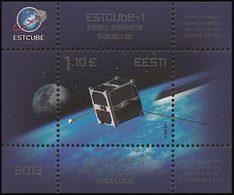 ESTONIE Bloc 1er Satellite 2013 Neuf ** MNH - Estland