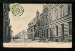 BELGIQUE BELGIUM - VILVORDE - La Poste Et La Rue De Louvain - Vilvoorde