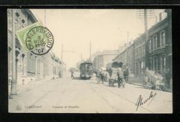 BELGIQUE BELGIUM - CHARLEROY - LODELINSART - Chaussée De Bruxelles - Tramway - Charleroi