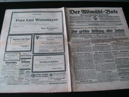 Der Altmühlbote,NSDAP-Verkündungsblatt (Bayern),3.Juli 1940,France-Battle,OKW - Hobbies & Collections