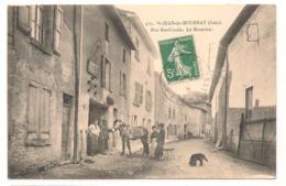 Saint Jean De Bournay - Rue Sainte Ursule - Le Marechal Ferrant   -  CPA° - Saint-Jean-de-Bournay
