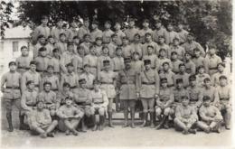 CPA 2780 - MILITARIA - Carte Photo Militaire - Un Groupe De Tankistes Du 503 ème RCC - VERSAILLES ? - Personaggi