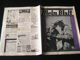 Mein Blatt,Nr. 23 Von 1940,Flugzeugschulen,Britische Kanalinseln - Hobbies & Collections