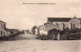 St Mathurin : Route De Nantes - France