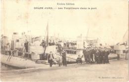 Dépt 06 - VALLAURIS - Golfe-Juan - Les Torpilleurs Dans Le Port - (Contre-torpilleur SARBACANE) - Riviera Édition - Vallauris