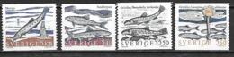 Suède 1991 N°1633/1636 Neufs Poissons - Suède