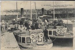 D17 - LE CHAPUS - LES VAPEURS POUR SAINT-TROJAN ET LE CHÂTEAU (ILE D'OLERON)-Bateaux ANDRE BOUINEAU Et LE CHAPUS - Other Municipalities