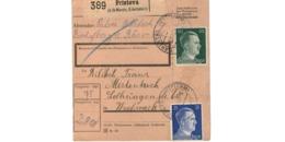 Colis Postal  -  De Pristova  (  St Marein , Erlachstein ) - Deutschland