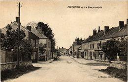 CPA PIFFONDS - La Rue Principale (358375) - Other Municipalities