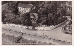 Bad Godesberg (Bonn) * Luftbild, Hotel Schaumburger Hof, Hafen, Fluss, Ufer * AK946 - Bonn