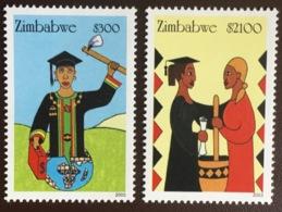 Zimbabwe 2003 Empowerment Of Women MNH - Zimbabwe (1980-...)