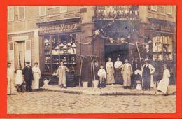X27062 Rare Carte-Photo GISORS Eure Bazar PLAQUEVENT Outillage Articles Ménages / Photographie Paul LAMAURY - Gisors
