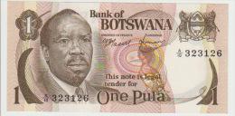 Botswana 1 Pula 1976 Pick 1 UNC - Botswana