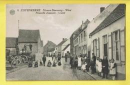 * Zuienkerke - Zuyenkerke (Brugge - Blankenberge) * (Albert, Nr 9) Nieuwe Steenweg West, Belle Animation, TOP, Unique - Zuienkerke