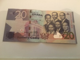 Billet 20 Cedis Ghana 2011 - Ghana
