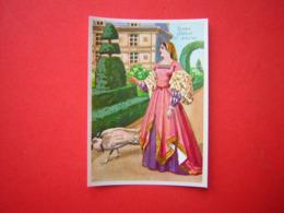 SL IMAGE BISCOTTES SAINT LUC 157 DAME DEBUT XVI E SIECLE - Old Paper